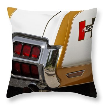 Hurst Olds Throw Pillow