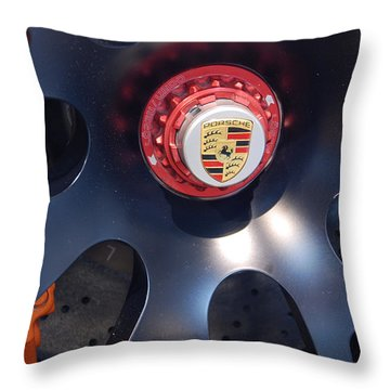 Hybrid Wheel  Throw Pillow
