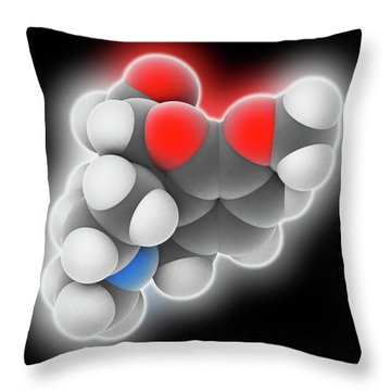 Cough Medicines Throw Pillows