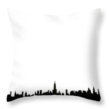 I Love Ny Throw Pillow