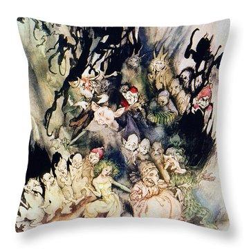 Ibsen: Peer Gynt Throw Pillow by Granger