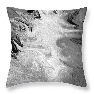 ICE Throw Pillow by Carol Lynch