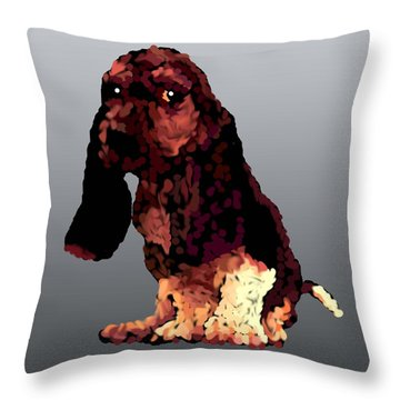 I'il Jill  Throw Pillow