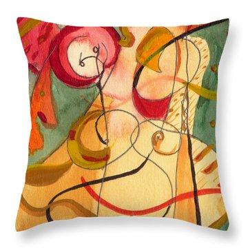 Illuminatus Throw Pillow