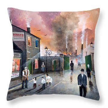 Images Of The Black Country Throw Pillow