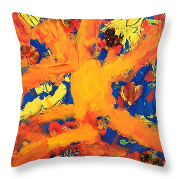 Impact Throw Pillow