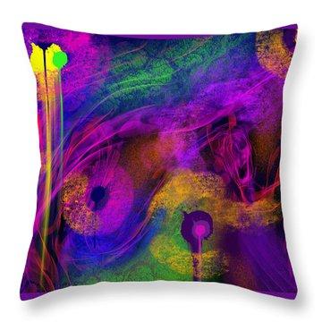 1 In 7 Throw Pillow by Billie Jo Ellis