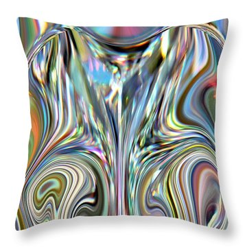 In A Fashion  Throw Pillow