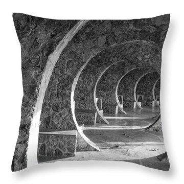 In Circles Throw Pillow