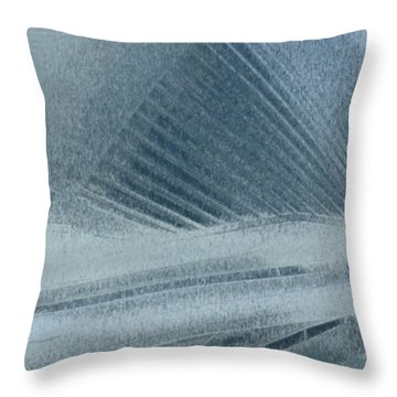 In The Mist Throw Pillow by Jack Zulli