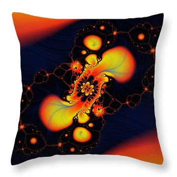 In The Other World Throw Pillow by Jeff Swan