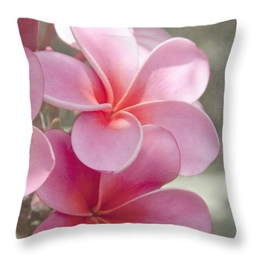 In The Path Of A Dream Throw Pillow