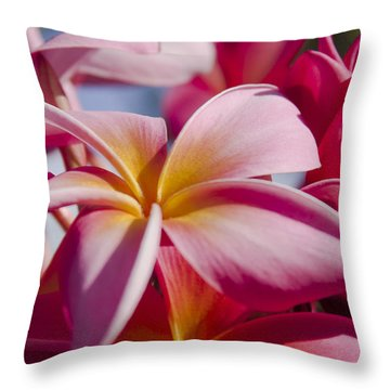 In The Whisper Of The Wind Throw Pillow by Sharon Mau