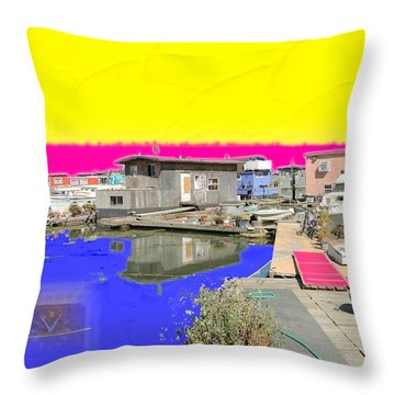Throw Pillow featuring the photograph Independence by Nick David
