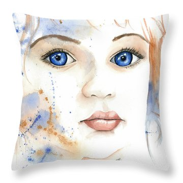 Light Of The Heart Throw Pillow