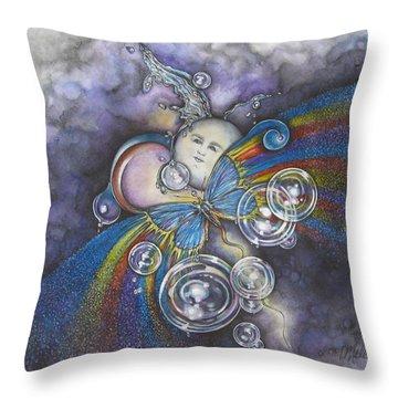 Into The Cosmos Throw Pillow