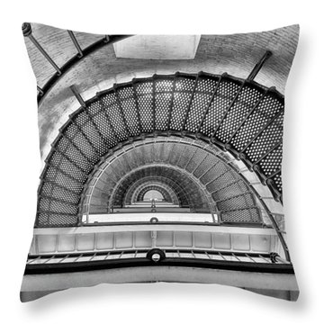 Throw Pillow featuring the photograph Into The Light by Howard Salmon