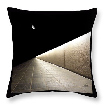 Into The Night I Throw Pillow by Ben and Raisa Gertsberg