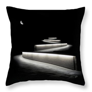 Into The Night II Throw Pillow by Ben and Raisa Gertsberg