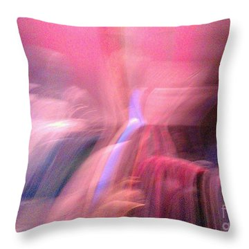 Intuition Throw Pillow by Jacqueline McReynolds