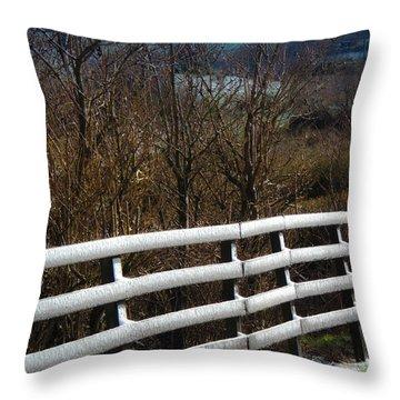 Irish Winter Throw Pillow