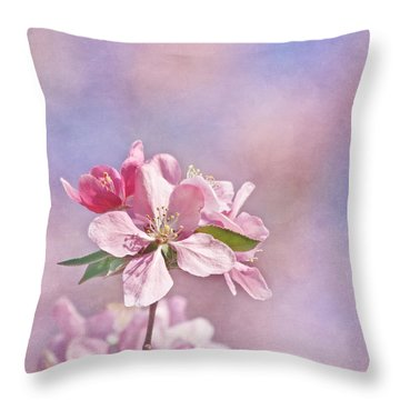 It Must Be Throw Pillow by Kim Hojnacki