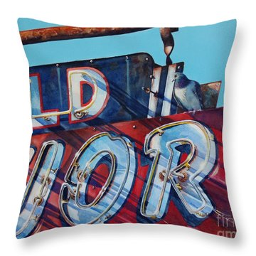 It's Five O'clock Somewhere Throw Pillow