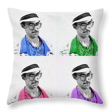 Izzy Throw Pillow by J Anthony