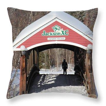 Jackson Nh Throw Pillow