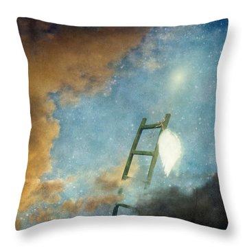Jacob's Ladder Throw Pillow