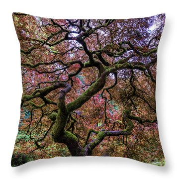 Lonely Tree Throw Pillows