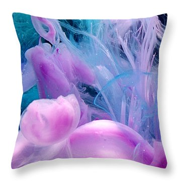 Jellyfish Dreams Throw Pillow