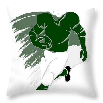 Jets Shadow Player2 Throw Pillow