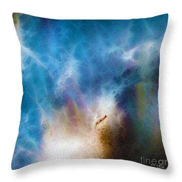 1 John 3 2. Gracious Uncertainty Throw Pillow by Mark Lawrence