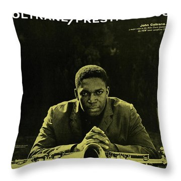 John Coltrane -  Coltrane Throw Pillow