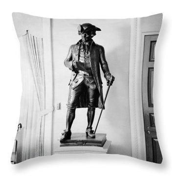 John Hanson (1721-1783) Throw Pillow by Granger