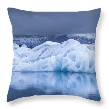 Jokulsarlon Throw Pillow
