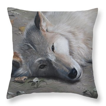 Just A Little Break Throw Pillow