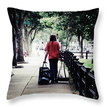 Just Another Day Throw Pillow by Zinvolle Art