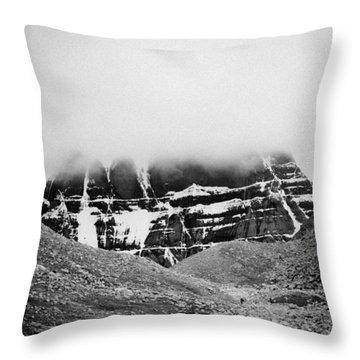 Kailash Mountain North Slope Throw Pillow
