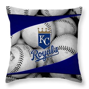 Kansas City Royals Throw Pillow