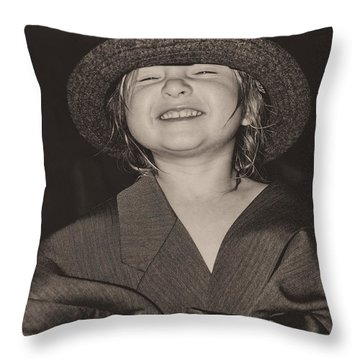 Kaylee Smilin' Throw Pillow