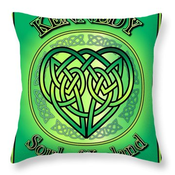 Kennedy Soul Of Ireland Throw Pillow