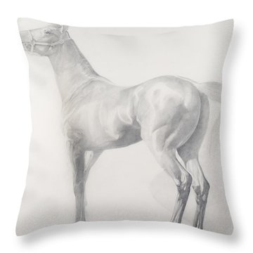 Kicking Off Throw Pillow