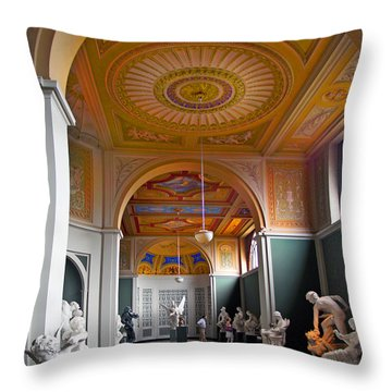 Kopenhavn Carlsberg Glyptotek 08 Throw Pillow