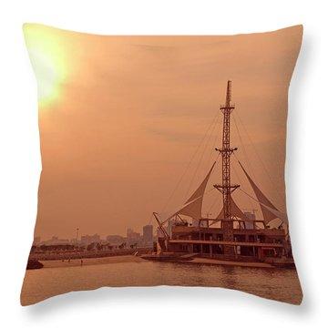 Kuwait Throw Pillow