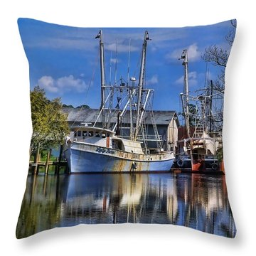 Lady Helen Throw Pillow by Victor Montgomery