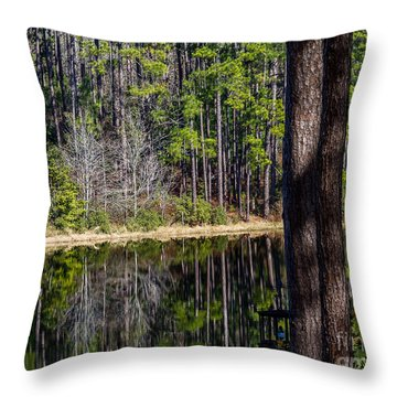 Lake Reflection Three Throw Pillow
