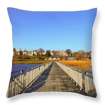 Lake Seneca Throw Pillow