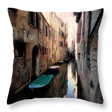 L'aqua Magica  Throw Pillow